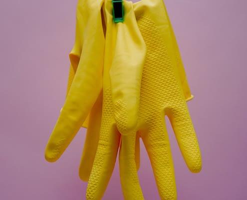 Handschuhe sauber